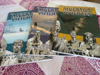 Lote de comics Los muertos vivientes, N 2,3 y 4