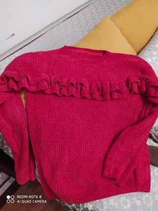 jersey rojo talla S