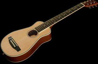 Guitarra Harley Benton Traveler Steel