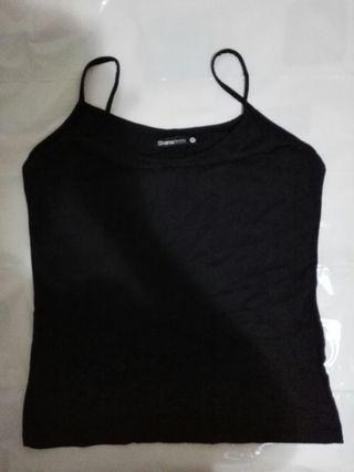 camiseta talla M licra negra mujer