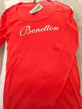 Camiseta Mujer Benetton