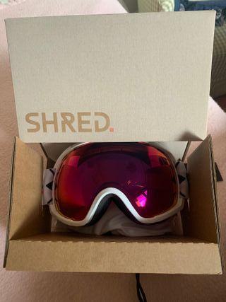 Gafas de Snowboard marca shred