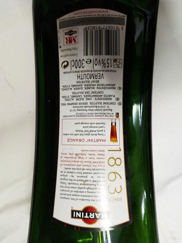 Botella Decoración Vacía