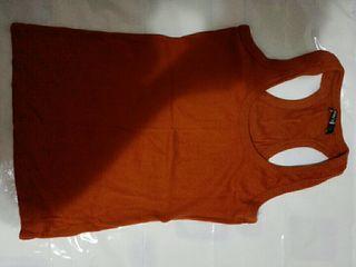 camiseta talla L NUEVA shana naranja mujer