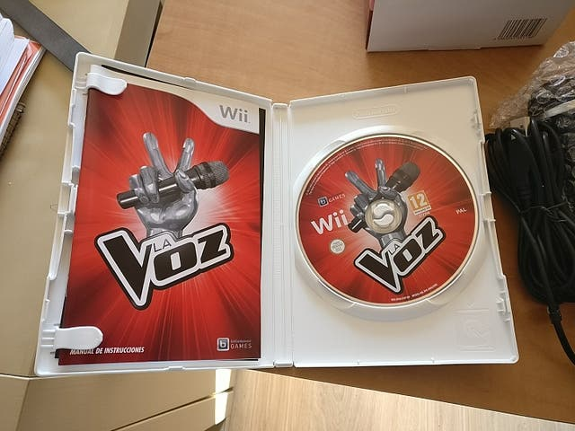 Juego Wii - WiiU de la Voz con dos micrófonos USB
