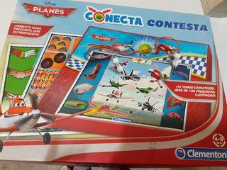 Juego conecta contesta de Aviones