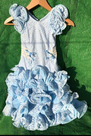 Traje de flamenca de niña de 2 años
