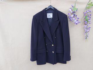 Marca Burberry chaqueta blazer hombre azul marino