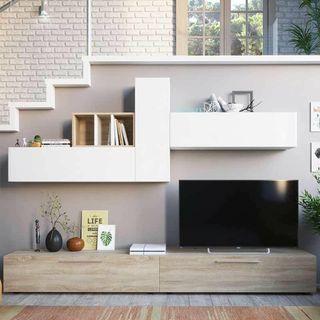 Mueble de televisión salón comedor moderno nordico