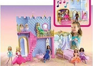 Castillo casa para princesas da a 2 caras