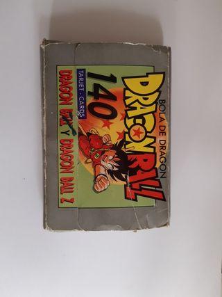 coleccion cartas dragon ball