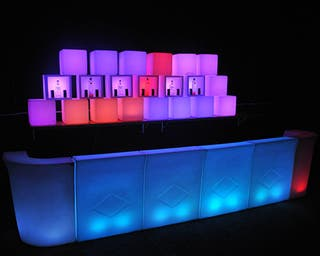 Muebles para eventos catering