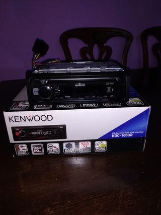 Radio cd-usb coche Kenwood