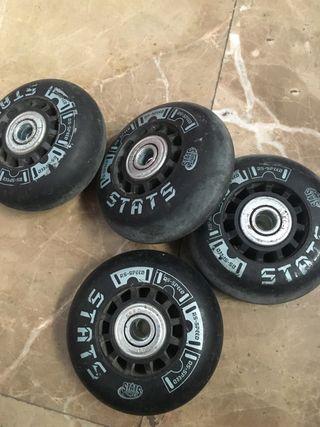 Ruedas patines línea 63mm