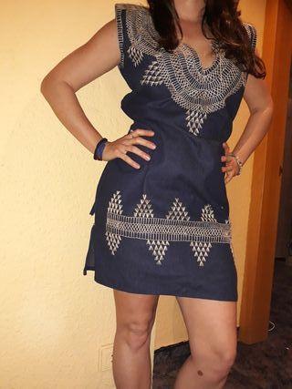 vestido artesano méxicano