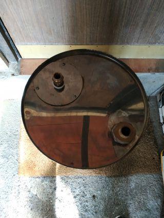 vaso de expansión abierto de acero inox de hergón