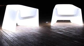sofas led polietileno
