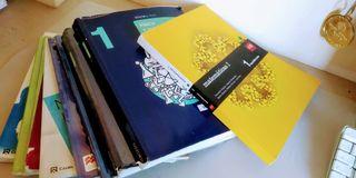 Libros de texto de secundaria y bachillerato