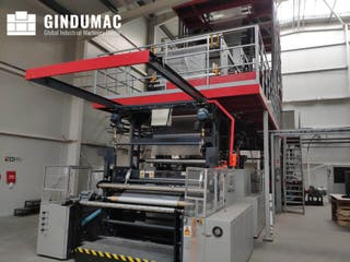 Máquina de extrusión de película ROLBATCH 1600