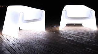 sofas com luces