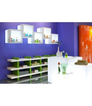 Botellero estanteria con luz