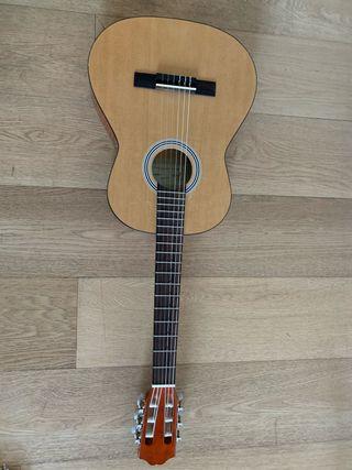 Guitarra infantil con funda