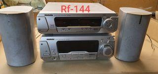 Radio, reproductor RCA.
