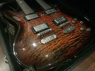 CHOLLO!! Guitarra Dean Hardtail doble mastil 12/6