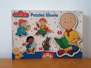 Puzzles silueta Caillou