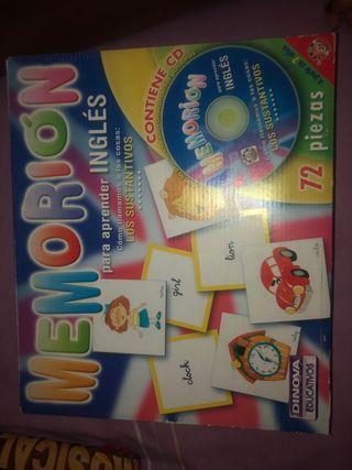 Memorion para aprender inglés