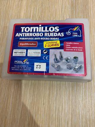 Tornillos antirrobo M12X1,5 L23