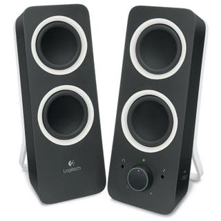 Altavoces Logitech Multimedia Speaker Z200 Negro