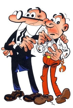 Mortadelo y Filemon chistes/ cómics