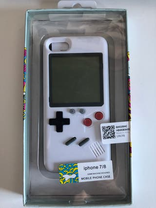 Funda GameBoy iPhone 7/8