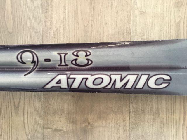 SKIES ATOMIC BETA CARV. 9-I8 + FIJACIONES