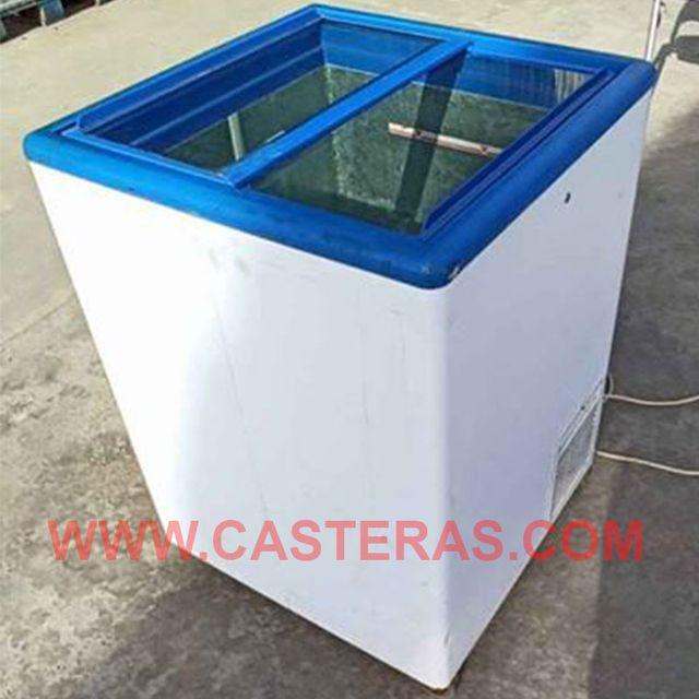 Arcon congelador con Puertas de cristal
