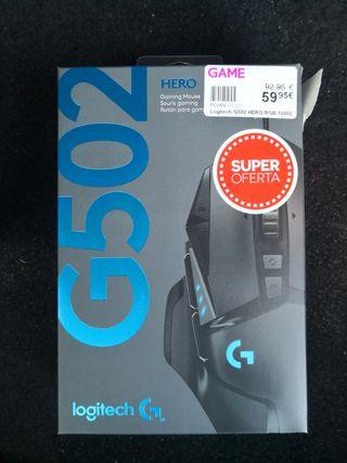 Ratón Gaming Logitech G502 Hero Nuevo