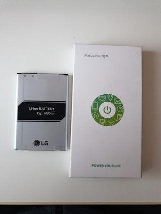 Baterías note 9 y LG