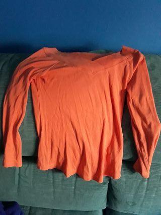 camiseta de manga larga mujer