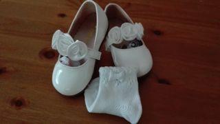 Zapato ceremonia niña/bebé