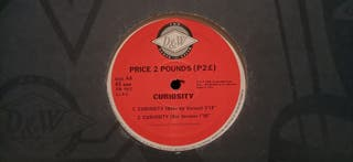 Vinilo Price 2 Pounds (P 2 £) Curiosity