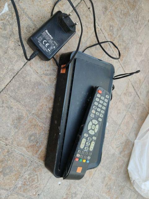 decodificador tv orange con mando