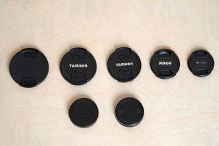 Tapadera Objetivos Nikon, Sigma, Tamron