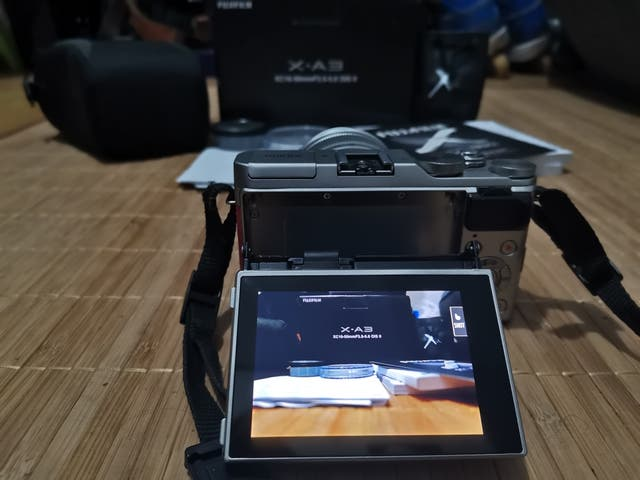 cámara Fujifilm x-a3
