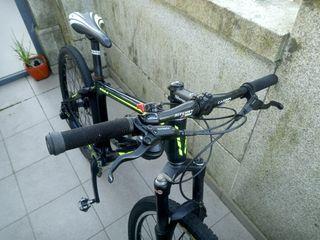 "bicicleta cuadro de carbono 26"""