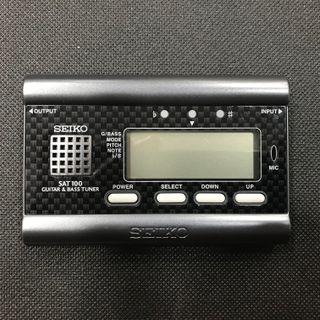 AFINADOR GUITARRA/BAJO SEIKO SAT-100