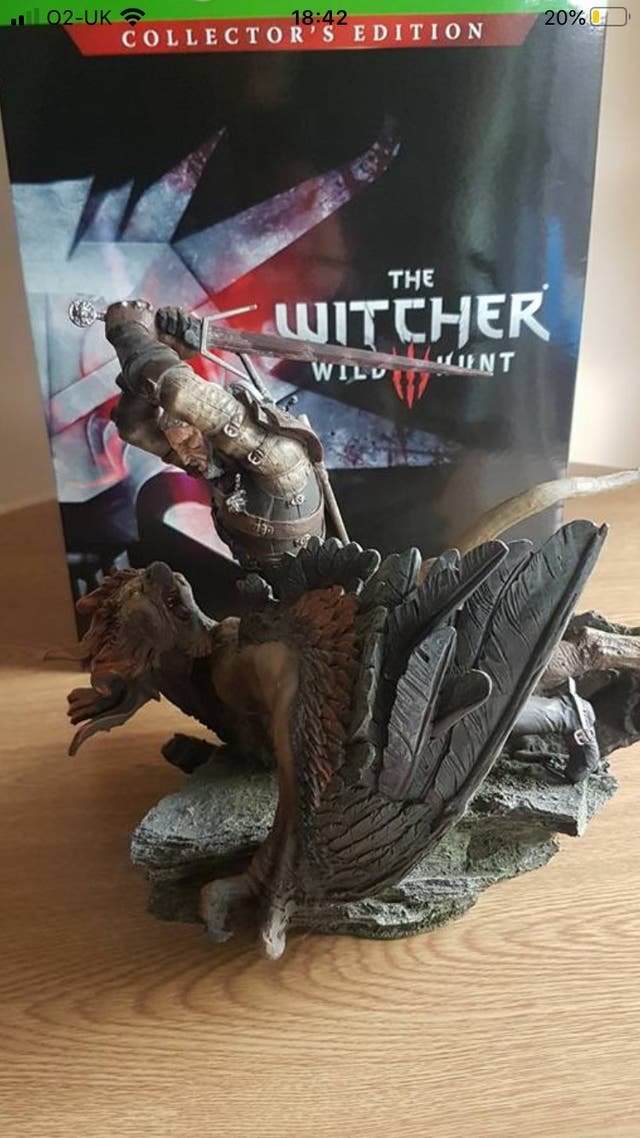 Witcher 3 Xbox one collectors edition