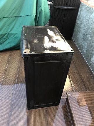 mueble de plástico para exteriores