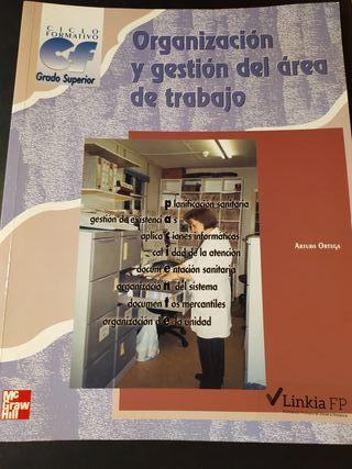 Libro Organización y gestión del área de trabajo