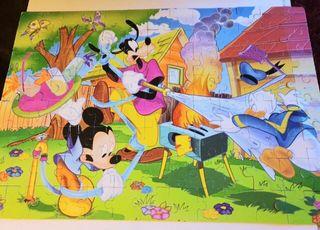 Puzzle supercolor Disney